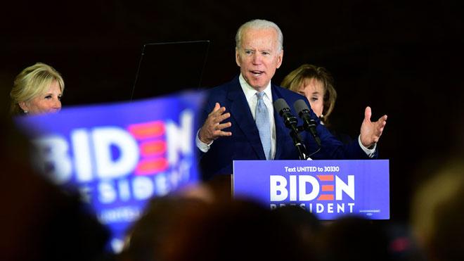 La victòria de Biden en el 'superdimarts' deixa Sanders sense la seva condició de favorit