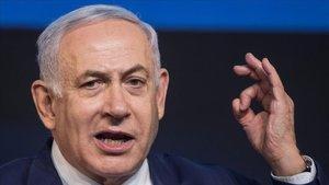 Binyiamin Netanyahu.