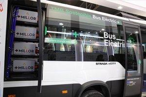 El bus eléctrico de TMB.