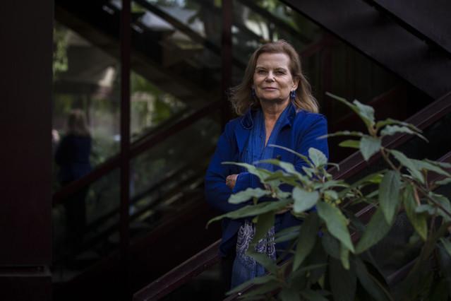 La escritora Carme Riera, Premio Nacional de las Letras Españolas, este martes.