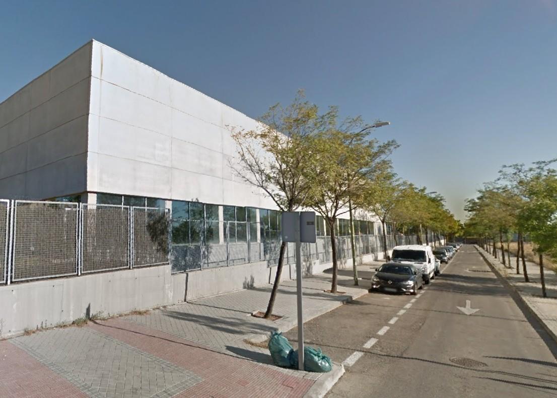 El centro deportivo Francisco Fernández Ochoa, en Carabanchel.