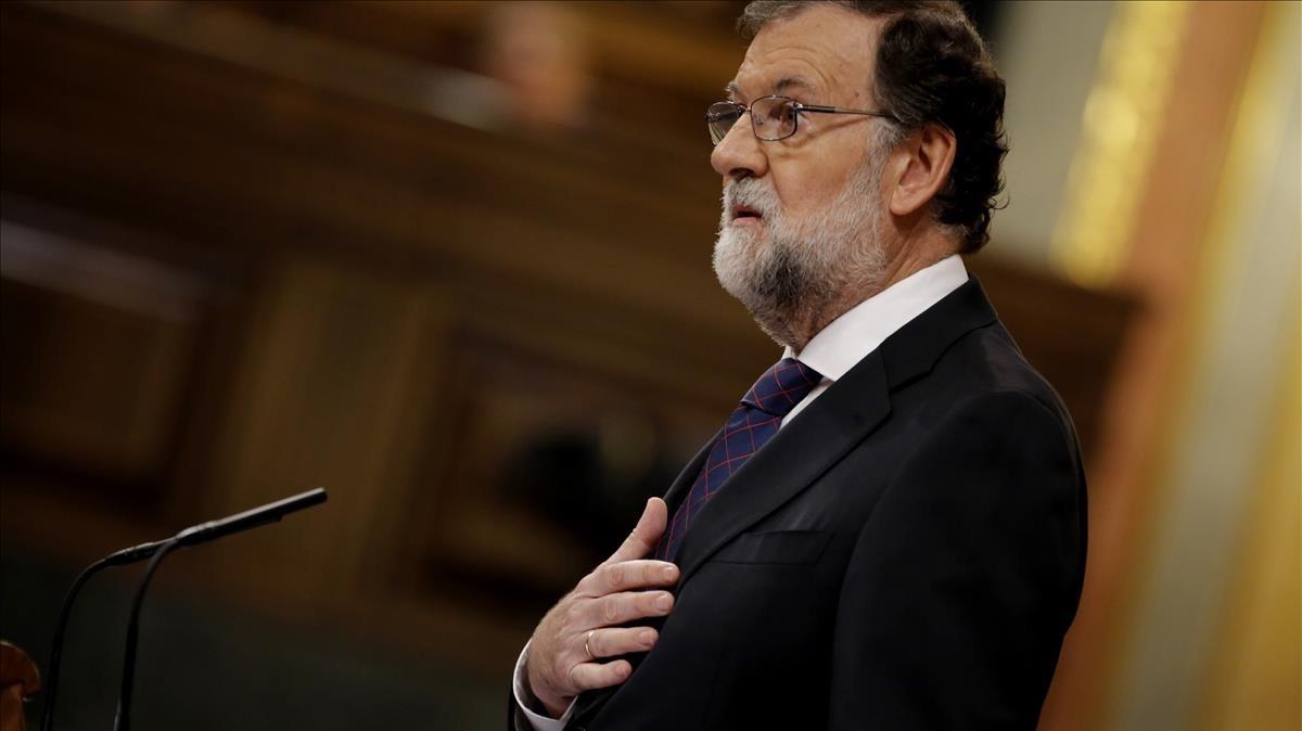 Comparecencia del presidente del Gobierno, Mariano Rajoy, en el Congreso.
