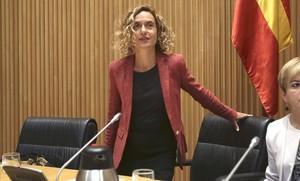 Comparecencia de Meritxell Batet en el Congreso de los Diputados.