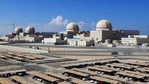 Central nuclear de Barakah de la Corporación de Energía Nuclear de Emiratos Árabes Unidos.
