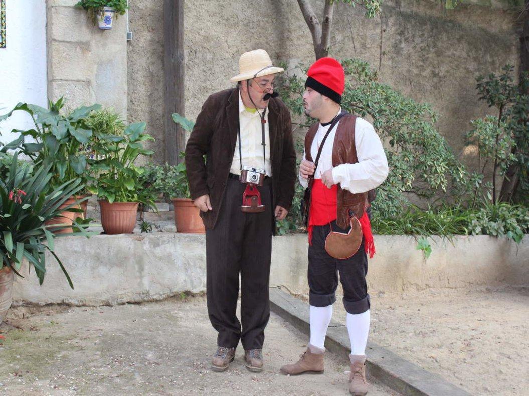 Foto de la ruta turística 'Santa Coloma como nunca la habías visto'.