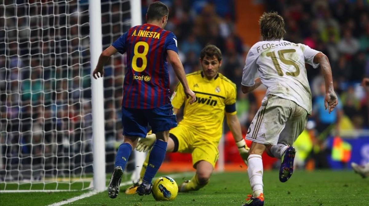 Imagen del clásico Real Madrid-Barcelona, celebrado enel Santiago Bernabéu el 10 de diciembre del 2011. El Barça ganó por un claro 1-3.