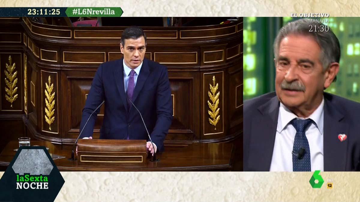 Revilla preocupado con Sánchez (La Sexta).