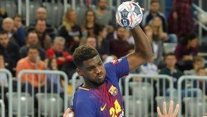 Dika Mem, autor de 5 goles.