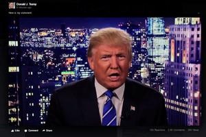 Donald Trump pide disculpas tras hacerse público el vídeo machista.