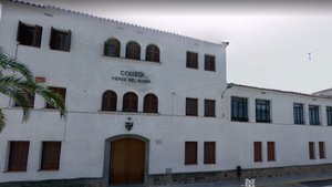 Escuela Verge del Roser en Vallirana.