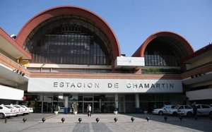 Estación de Chamartín.