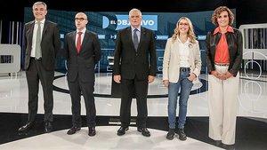 Les prestacions d'atur posen d'acord tots els candidats a les europees, excepte Vox