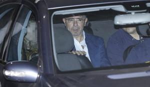 El exsecretario general del PP de Madrid, Francisco Granados, a su salida del juzgado de Majadahonda.