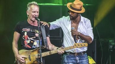 Sting & Shaggy, luz de Jamaica en Cap Roig
