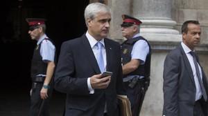 El exconseller Germà Gordó, en una imagen del 2015.