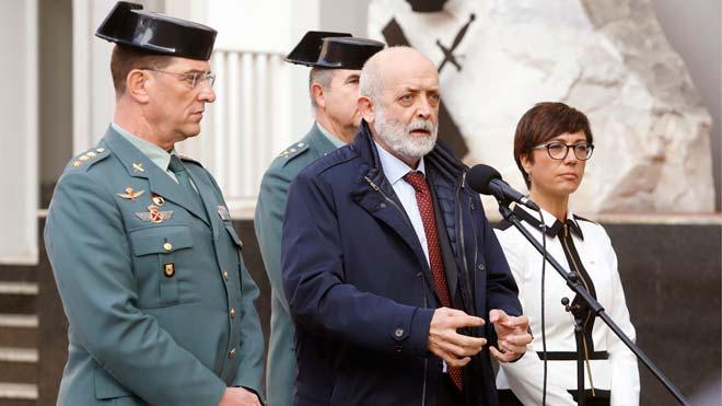 El director de la Guardia Civil dice que trabajan al mil por mil en el caso de Julen para que la investigación termine cuanto antes.
