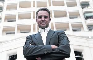 Hervé Falciani, el ingeniero de sistemas que sacó a la luz la lista de evasores fiscales de HSBC.