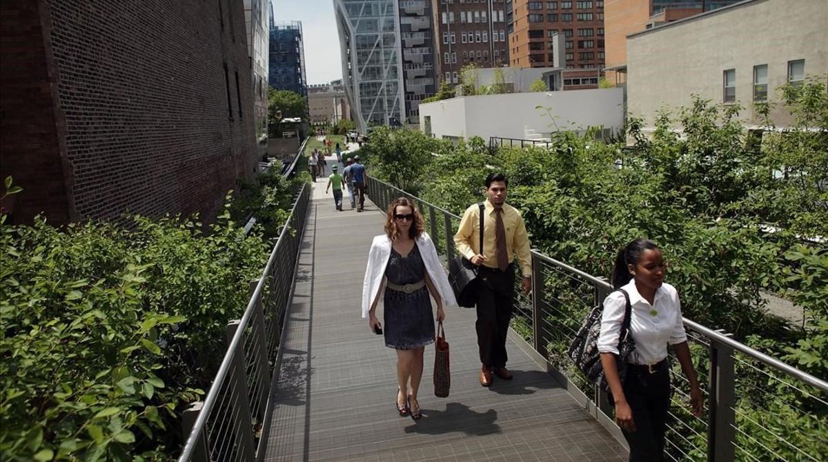 El High Line de Nueva York.