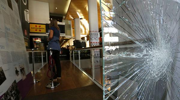 No hubo seguridad en Blanquerna porque no lo pidieron los organizadores, según el Ministro del Interior