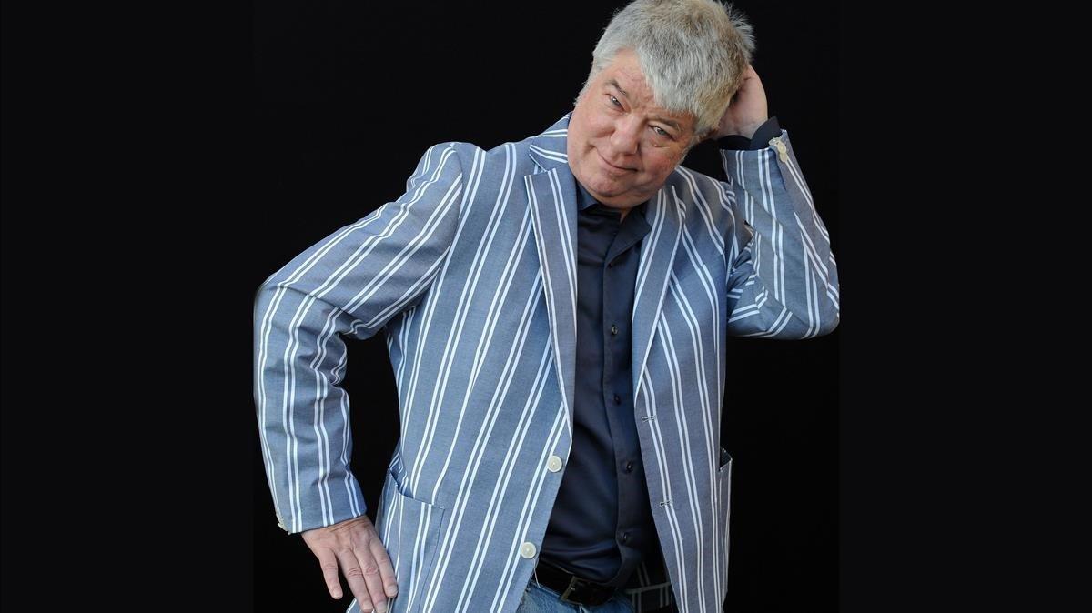 Chris Offutt, en un festival literario en Roma, el pasado junio.