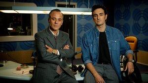 Javier Gutiérrez y Miki Esparbé, en 'Los reyes de la noche'.