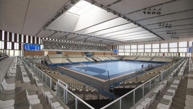 Palau dEsports Catalunya, que se estrena en los Juegos Mediterráneos de Tarragona.