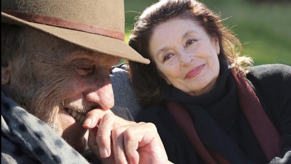 Jean-Louis Trintingnant y Anouk Aimée, en un fotograma de 'Los años más bellos de una vida'