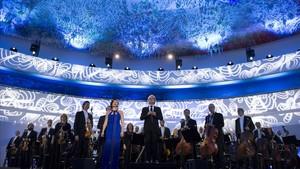L'orquestra del Liceu triomfa al Concert dels Drets Humans