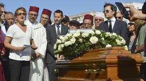 El escritor Juan Goytisolo ha sido enterrado en el cementerio de Larache.