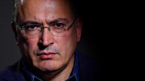 Khodorkovski, en una entrevista reciente en Londres.