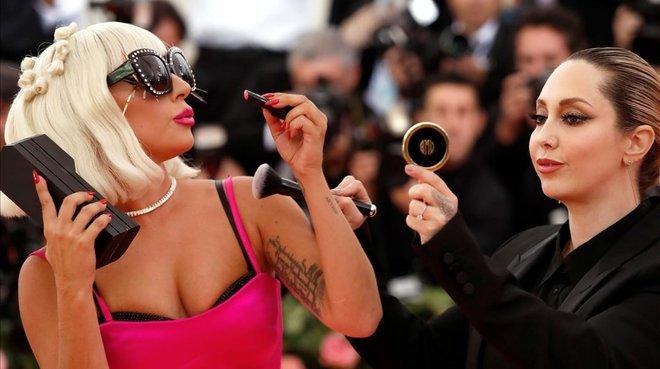 Lady Gaga, a su llegada a la gala Met, en Nueva York, el pasado 6 de mayo.