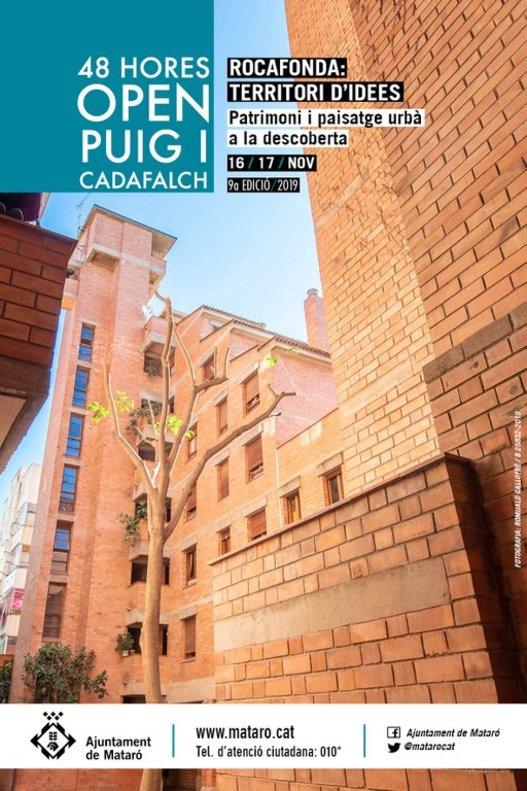 Les 48 hores Open Puig i Cadafalch de Mataró se centren en el patrimoni de Rocafonda