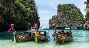 Las exóticas playas de Tailandia son un reclamo turístico de primer nivel.