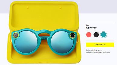Las gafas Spectacles ya se pueden comprar en internet