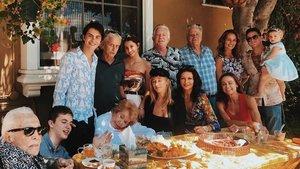 La familia Douglas.