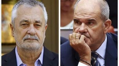 Chaves y Griñán llegan ante el juez con un caso de los ERE que pierde fuelle