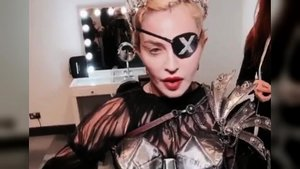 Madona, con el 'look' e su último disco, 'Madame X'.