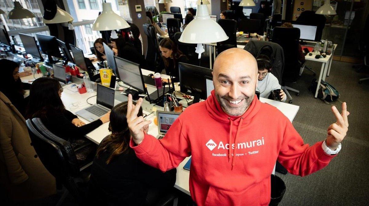 Marc Elena, consejero delegado de la start-up Adsmurai.