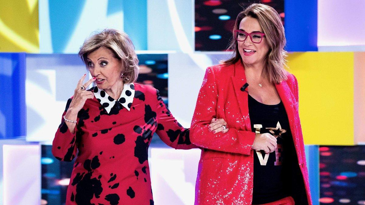 """María Teresa Campos saca del armario a Toñi Moreno en Telemadrid: """"No me gustan los hombres"""""""