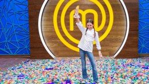 La barcelonesa Lu, ganadora de la séptima edición de 'Masterchef junior' (TVE-1).