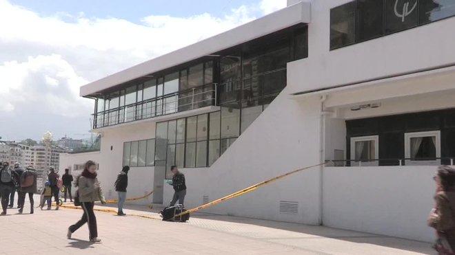 La Ertzaintza imputa a los siete detenidos un delito de lesiones graves.