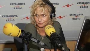 Mònica Terribas, en El Matíde Catalunya Ràdio.