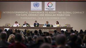Llum verda al primer Pacte Mundial per a les Migracions, debilitat per les absències
