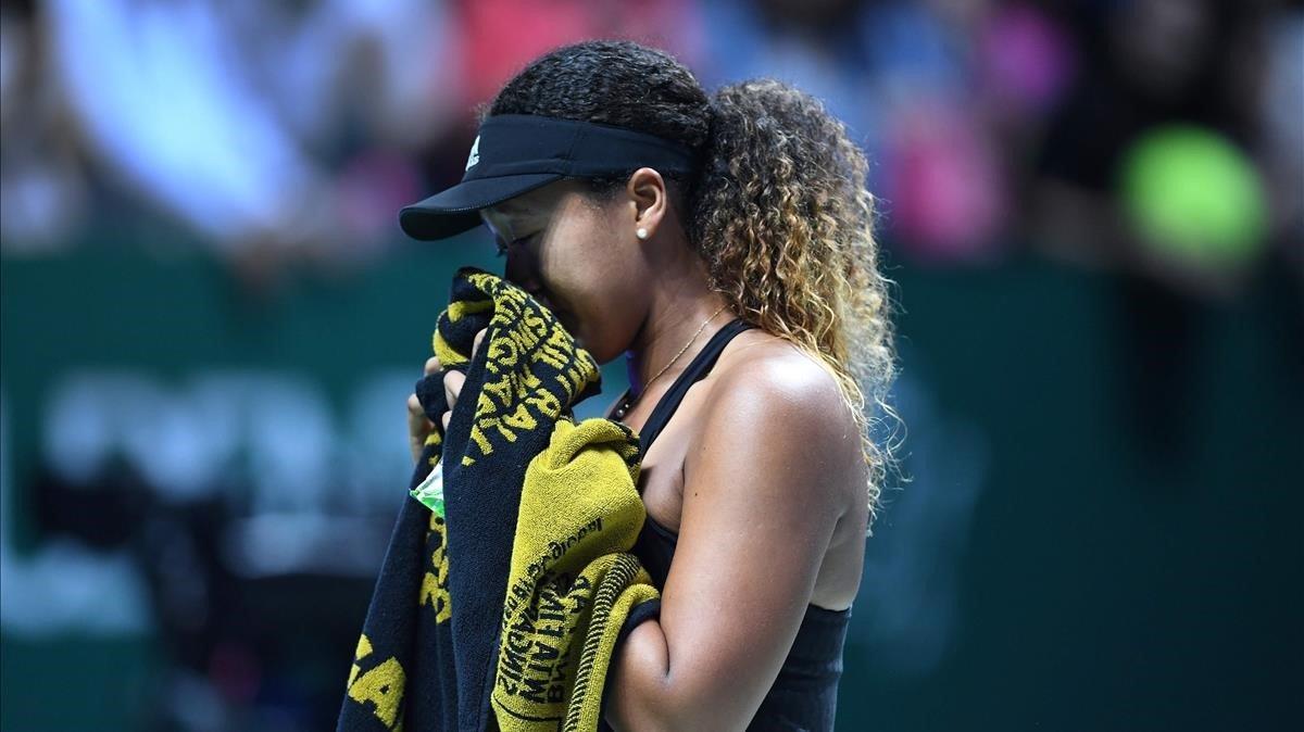 Tenista Stephens elimina a alemana Kerber del WTA Finals