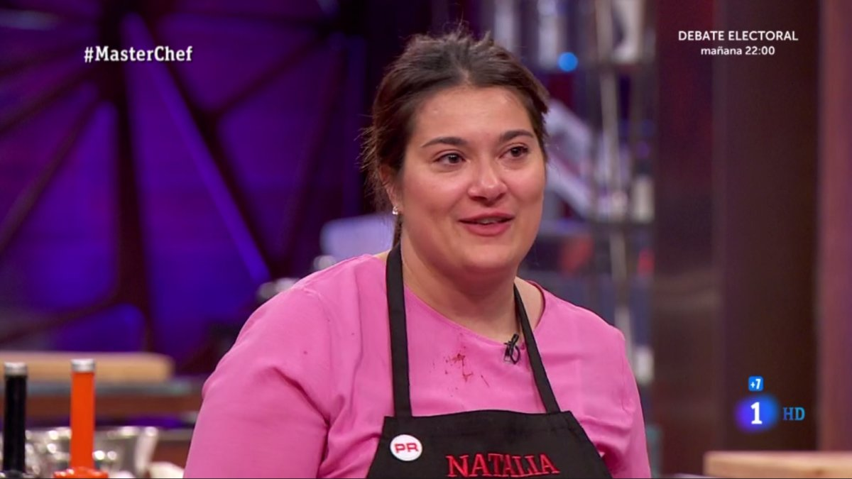 Natalia, octava expulsado de 'Masterchef 7'.