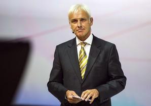 El nuevo presidente de Volkswagen, Matthias Müller, en una imagen del pasado septiembre.