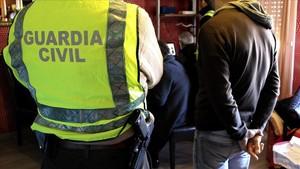 Operación de la Guardia Civil contra la pornografía infantil y la pederastia, el pasado día 4 de julio.