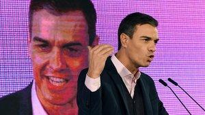 Sánchez busca el centro en Catalunya
