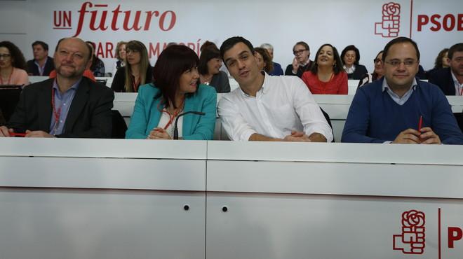 Así te hemos contado el comité federal del PSOE sobre la política de pactos del partido