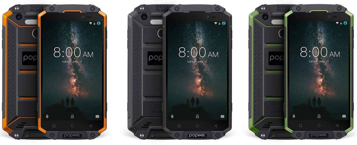 Nuevo rugerizado P9000 Max de Poptel